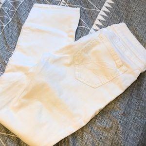 White Capri jeans - Bootlegger